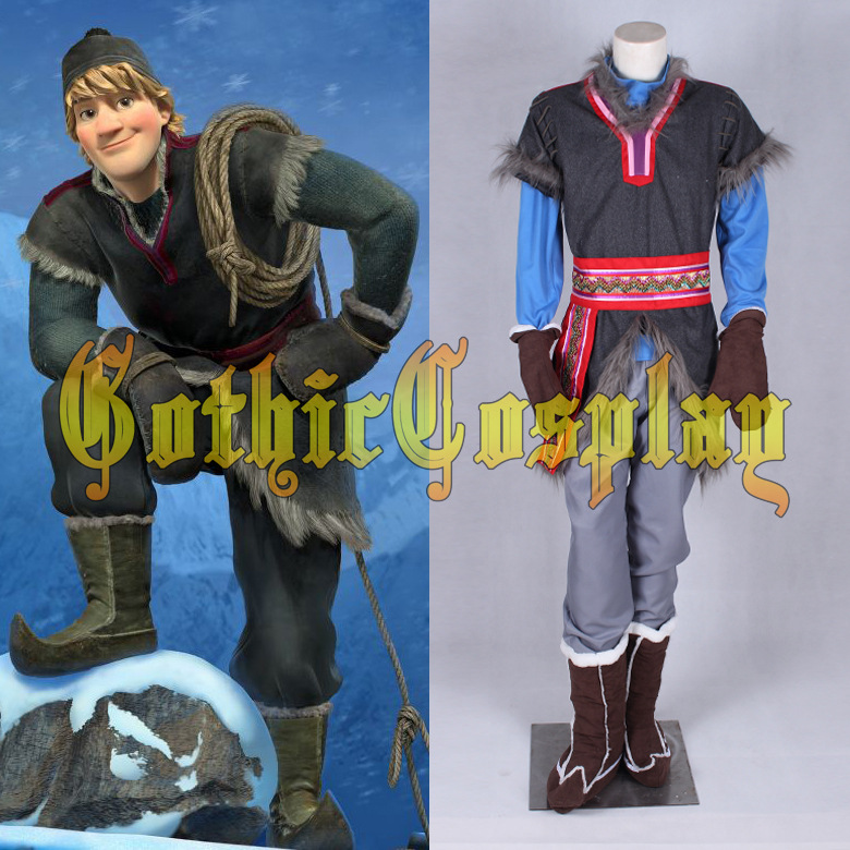 In Stock/&Ready Ship~ Best Kristoff Cosplay Costume mp001653