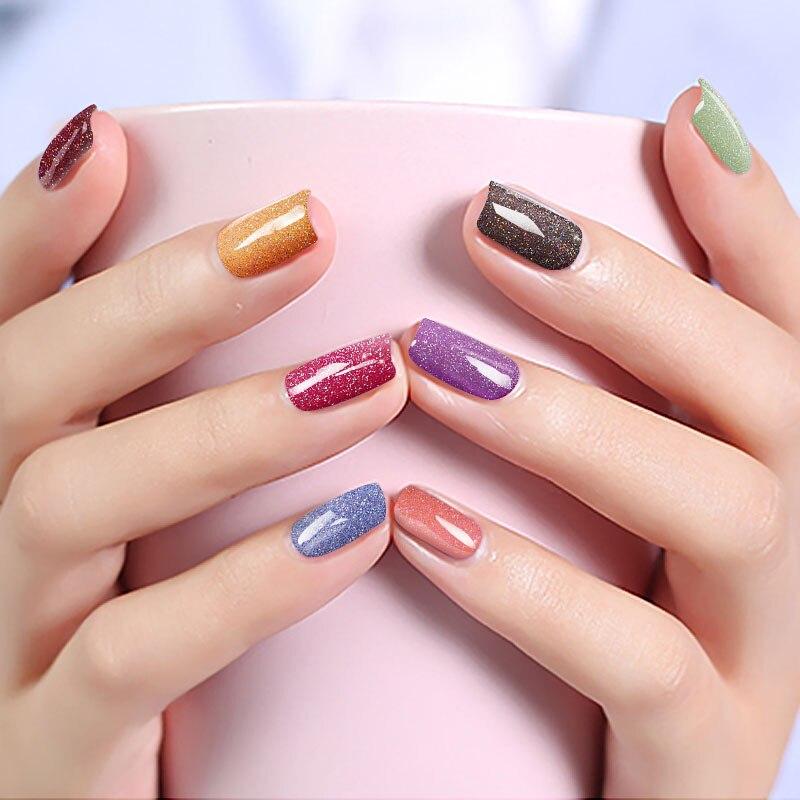 Modelones Newest Shiny Neon Color Gel Nail Polish Hot Sale 43 Colors ...