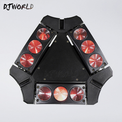 Mini cabeça movente led aranha luz 9x10 w 4in1 rgbw led festa luz dj feixe de iluminação movente cabeça dmx dj luz