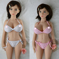 Athemis silicone doll set sexy doll outfit sexy bikini white and pink color to choose  custom made size