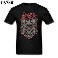 Slayer Band Heavy Metal Men T Shirt Online Designer Tee Shirts Man Short Sleeve O Neck