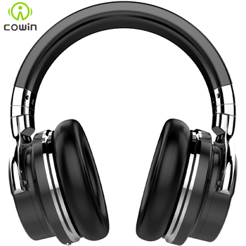 Cowin E7 ANC Bluetooth Headphones Active Noise Cancelling Headphone Wireless Headset 30 hours Over ear with microphone Deep bass 1
