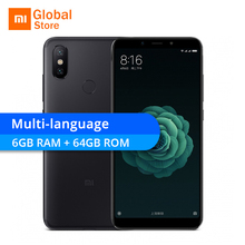 Xiaomi Mi 6X 6GB RAM 64GB ROM Smartphone 6 X Snapdragon 660 Octa Core 5.99″ 18:9 Full Screen 20MP AI Dual Camera 4G Dual SIM
