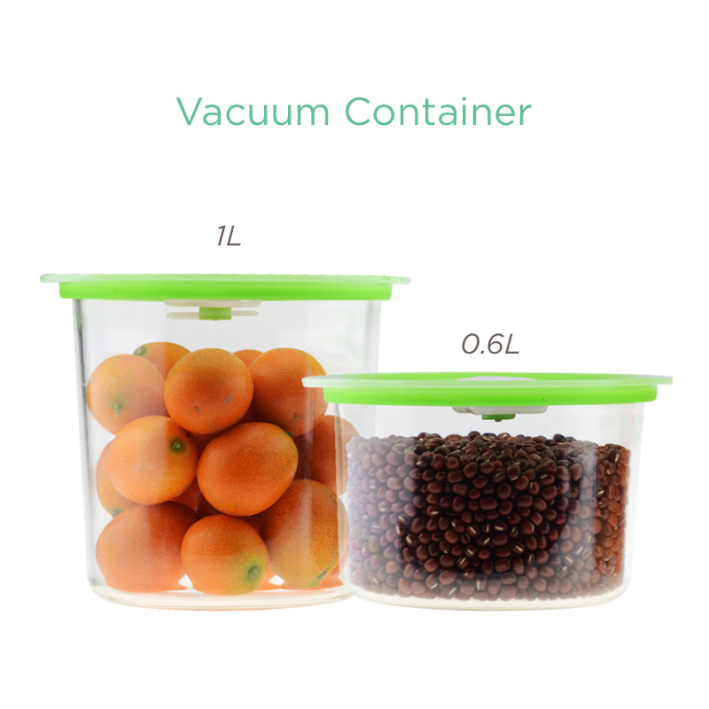 Image 5 - Reelanx Vacuum Containers Wine Stopper for Keeping Food Wine Fresh Work with Vacuum Sealer Jar with Air Valvevacuum for foodvacuum sealer containersvacuum machine for food -