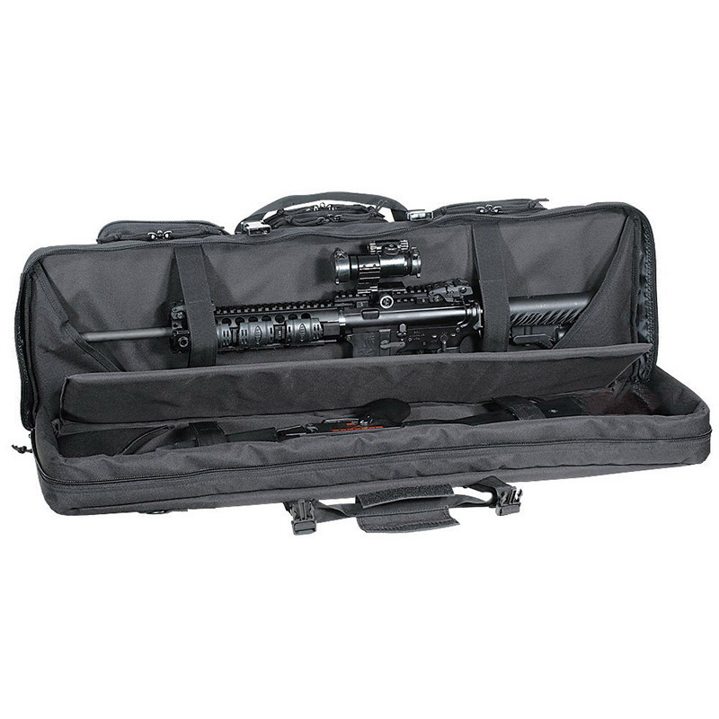 92 107 120cm Large Hunting Bags Dual Cabbeen Function Bag 600D Oxford Carbine CS Gun Rifle Hard Case for Hunting Air Range Bags in Hunting Bags from Sports Entertainment