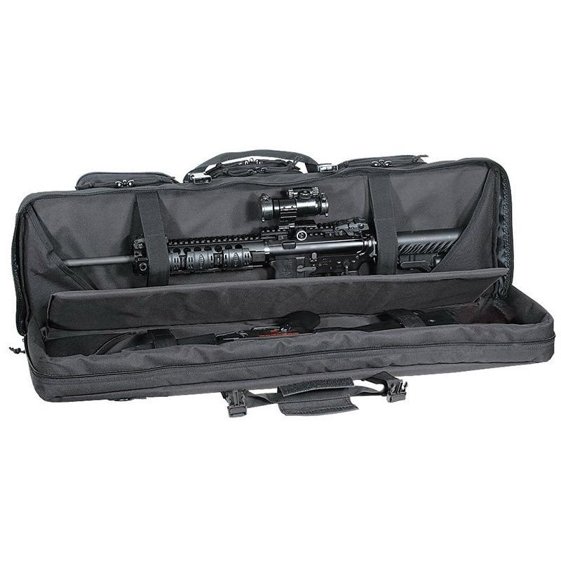 92/107/120cm bolsas de caza grandes de doble función con cable 600D Oxford carabina CS Gun Rifle estuche rígido para bolsas de caza de campo de aire