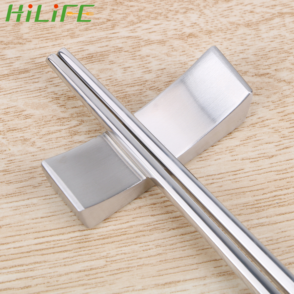 HILIFE Stainless Steel 304 Chopsticks Holder Tableware 1 Piece Kitchen Accessories Chopsticks Stand