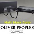 Не ношу очки кадров Бренд Oliver Peoples NDG-1-P Площадь Старинные Миопия Очки Кадр Мужчины Женщины Ретро Очки Кадров