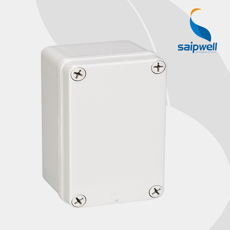 2015 New Saipwell Brand IP66 ABS plastic enclosures for electronics 80 130 70mm Gray Cover type