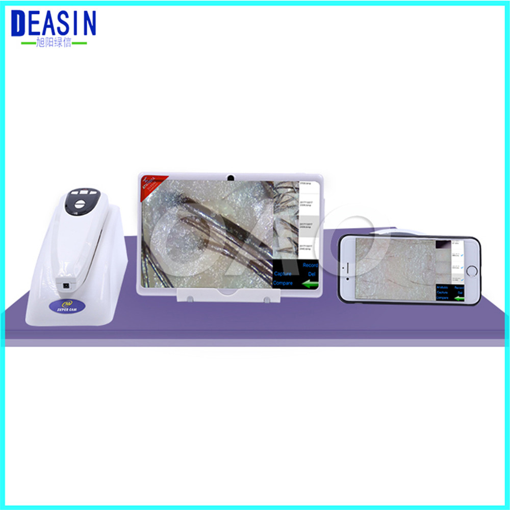2018 High-tech Wifi Scalp Hair Microscope Analyzer Skin Detector Analyzer camera WIFI Skin Care & Hair Scalp Analyzer
