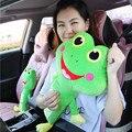 55 cm de largo cinturón de seguridad del coche cubierta de relleno para niños cartoon cat oso cinturón de seguridad auto cubre cojín niños asientos de almohadas juguetes