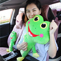 55cm Long Car Seat Belt Cover Padding for Kids Cartoon Cat Bear Auto Seatbelt Covers Cushion Children Seats Pillows Toys