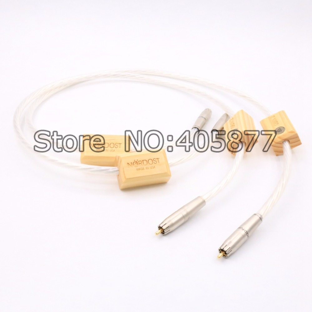 Free shipping 3meter Nordost Odin2 silver Supreme Reference interconnects RCA cable Audiophile for amplifier CD player free shipping viborg nordost odin supreme reference interconnects copper rhodium carbon xlr cable diy cable audiophile