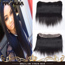 Big Sale Brazilian Lace Frontal Closure13X4 Ear to Ear Human Hair with Frontal Closure Virgin Brazilian Straight Frontal Closure