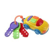 Автомобиль ключ цветная игрушка для развития слуха раннее развитие ребенка Смарт ролевые игры игрушки для детей, для ребенка, обучающие игрушки