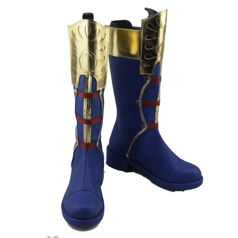 My Hero Academia Todoroki Shoto Cosplay Shoes Boots Superhero Halloween Carnival Party Costume Accessories For Men