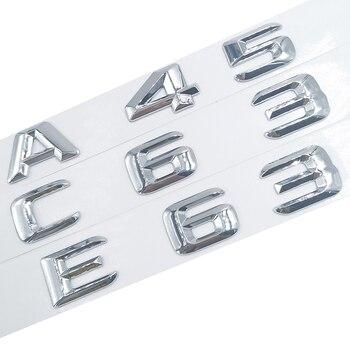 A 45 A45 C 63 C63 E 63 E63 ABS пластик 3D стикер для Mercedes Benz W117 Cla45 W205 C63 W212 E63 W207 W176 A45 X156 Gla45 AMG