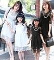 Семья кружева платья новый летний дочь-в-законе Patry платья, Девушки одежды семьи, Дети девушка платье