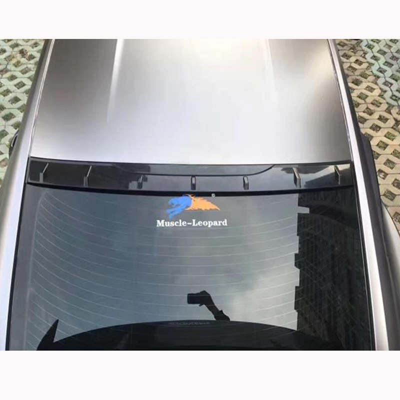 For Ford Mustang Spoiler 2015 2016 2017 2 Door Mustang Tail Wing Decoration ABS Plastic Unpainted Primer Rear Trunk Roof Spoiler hpi sprint 2 mustang vaughn gittin 4wd 2 4ghz