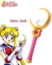 Бесплатная Доставка Сейлор Мун Принцесса Сейлор Мун Усаги цукино Луна Stick Аниме Косплей Аксессуары