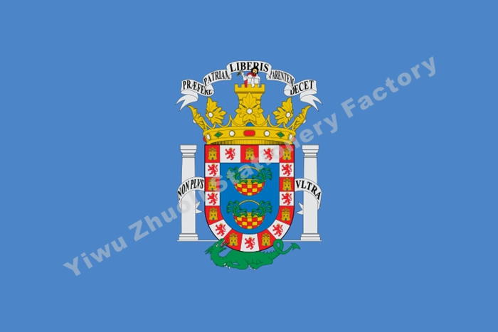 Melilla Flag 150X90cm (3x5FT) 120g 100D Polyester Double Stitched High Quality Free Shipping Spain Autonomous Regions