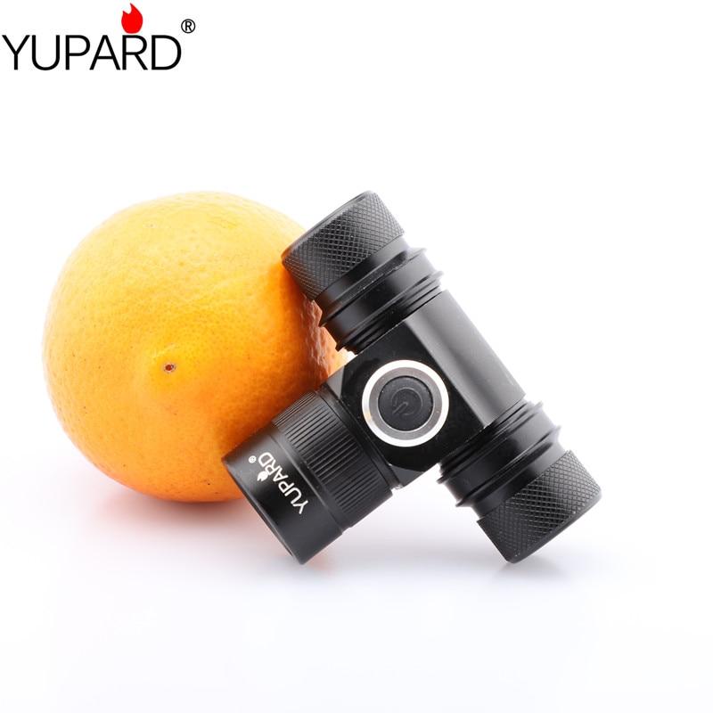 Yupard XM-L2 LED T6 LED žibintų priekinis žibintas Neperšlampamas didelio galingumo šviesus Stovyklavimas medžioklės šviesos įkraunamas 18650 akumuliatorius
