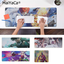 MaiYaCa In Stocked my hero academia Beautiful Anime Mouse Mat Rubber PC Computer Gaming mousepad women in academia