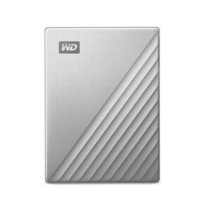 Image 2 - ويسترن ديجيتال WD ماي باسبورت الترا 1 تيرا بايت 2 تيرا بايت 4 تيرا بايت قرص صلب خارجي قرص USB C 256 AES محمول التشفير HDD ويندوز ماك