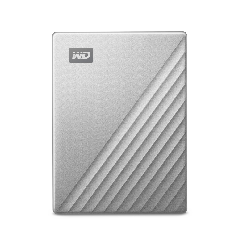 Image 2 - Western Digital WD My Passport Ultra 1TB 2TB 4TB External Hard Drive Disk USB C 256 AES Portable Encryption HDD for Windows Mac-in External Hard Drives from Computer & Office