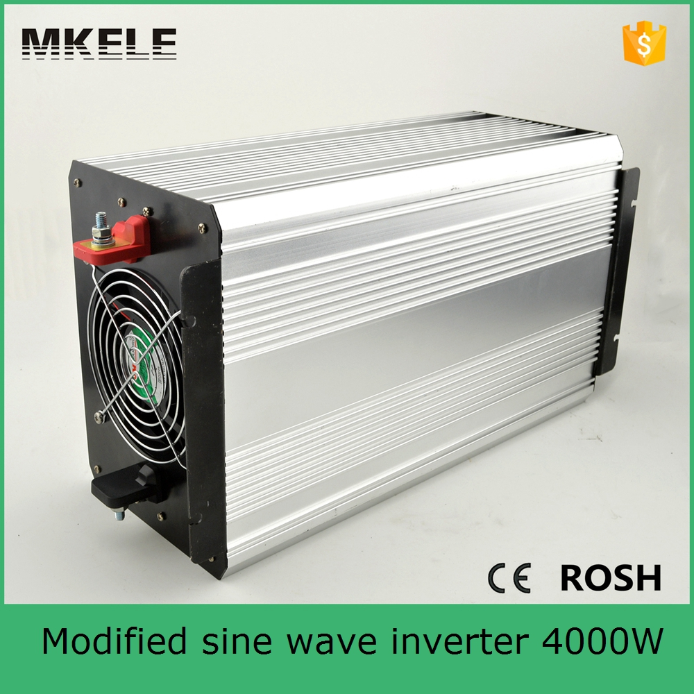 цена на MKM4000-242G power bright power inverter peak 8000w inverter 4000w modified sine wave off grid power inverter dc 24v to ac 220v