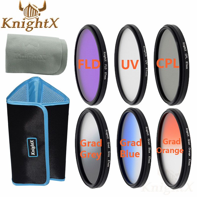 Prix pour Knightx 52mm 58mm 67mm uv cpl macro close up filtre polarisant pour canon 700d nikon sony d3200 d5200 d3100 d5100 appareil photo reflex numérique
