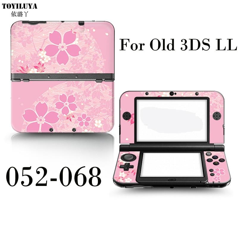 2017 De Protection de La Peau Autocollant Pour Le Japon Vie Et Zelda 3 Pistolet Vieux 3DS XL LL Pour 3DS XL LL Gamepad
