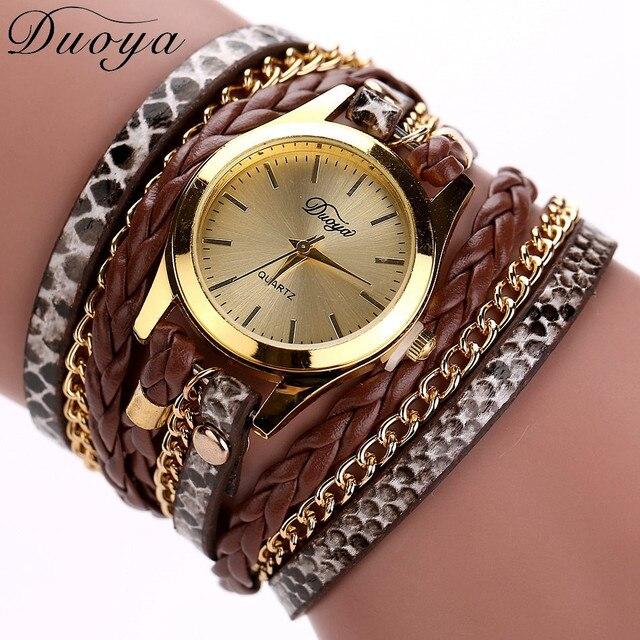 2018 Brand Watches Women Luxury Women Bracelet Watch Dress Female Casual Leather