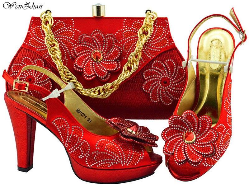 Dames Italien Conception B89 Ensemble Violet Partie Et Haute Sacs Qualité Correspondre Beau 22 Sac Couleur À Pour Chaussures d08dp