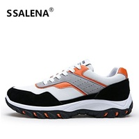 Outdoor Walking Shoes Men High Quality Sneakers Men Spring Autumn Outdoor Breathable Walk Run Shoes AA20068