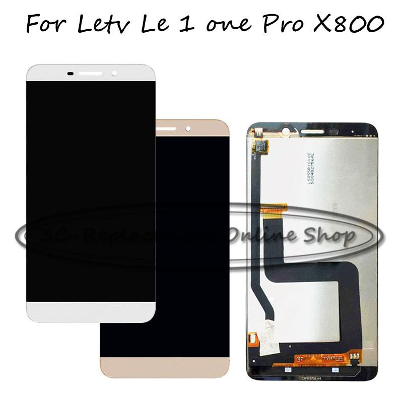 Prix pour 5.5 pouce Remplacer nouveau Pour LeTV Le 1 pro X800 LCD Écran Tactile Digitizer + LCD assemblée D'affichage De Réparation pièces