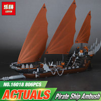 New Lepin 16018 Genuine The Lord Of Rings Series The Ghost Pirate Ship Set Mini Figure