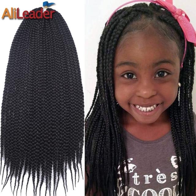 Cute Crochet Box Braids For Kids 22roots Pack Senegalese Twist Hair