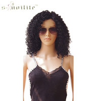 SNOILITE Lace Front Wig 14 Body Wave Synthetic Hair Women Lady Daily Costume Full Head Wig