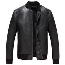 YOLANFAIRY 100 Real Sheepskin Leather Coat Men s Genuine Leather Jacket Spring Autumn Plus Size Bomber