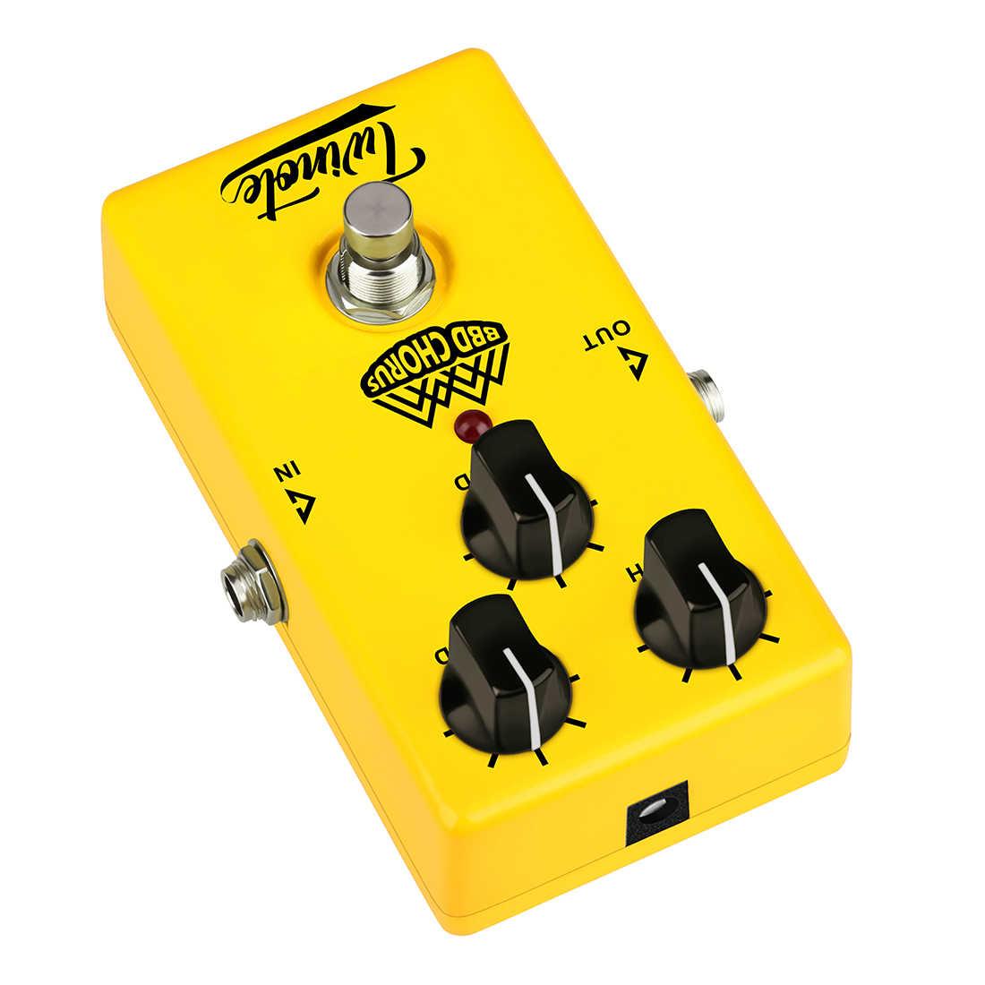 Twinote صحيح الالتفافية التناظرية جوقة تأثيرات الغيتار دواسة تأثير المعالج للكهرباء الغيتار-BBD جوقة الكهربائية الغيتار أجزاء