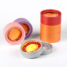 60pcs Cardboard Bracelets Boxes Round 8.5x3.5cm Jewelry Boxes Set Gifts Present Storage Display Boxes For Bracelet