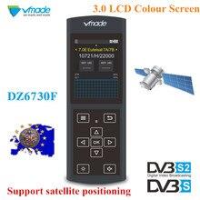 Vmade ใหม่ล่าสุด DVB S/S2 สีดำ Satellite Finder 3.0 นิ้วจอแสดงผล LCD สนับสนุน MPEG 2/4 1080 p DVB s2 Sat Finder สำหรับเยอรมนี