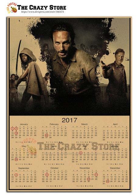 The Walking Dead 2017 Calendar