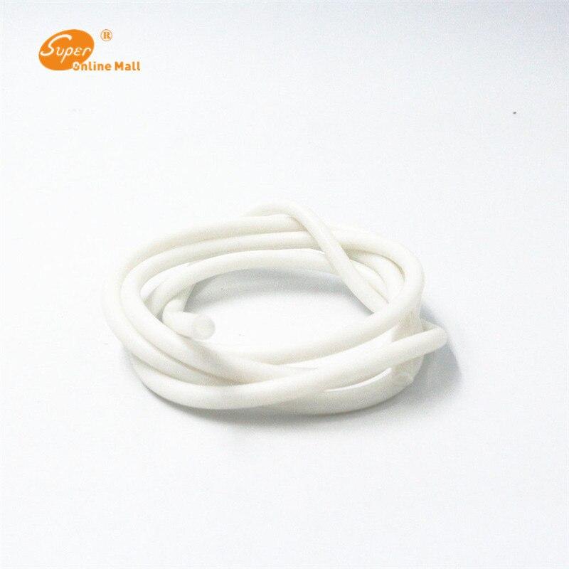 1 м 3 мм ID x 5 мм OD пищевой силиконовый гибкий шланг-высокотемпературный шланг