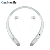 Rechargeable Wireless Neckband Bluetooth Headset Sports Headphone Earphone Stereo Earbuds Earpiece With Microphone For Phone