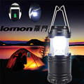 High Quality LED Portable USB Solar Rechargeable Lantern Outdoor Camping Hiking Lamp Light