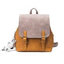 Zhierna Новинка 2017 года разработан Брендовые женские рюкзак двойной плечо женщин рюкзак Качество Мода для девочек школьная сумка