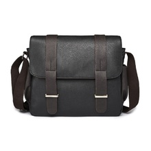 Canvas Men Bag Casual Messenger Bag Business PU Leather Mens shoulder bag Fashion Men's Crossbody Bag