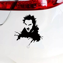 CS-624#20*18.3cm Sticker on the car King and the clown Gorshenev Michael funny car sticker vinyl decal silver/black for auto car cs 624 20 18 3cm sticker on the car king and the clown gorshenev michael funny car sticker vinyl decal silver black for auto car